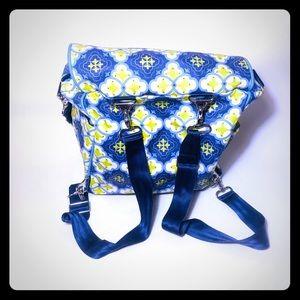 Petunia Pickle Bottom Backpack Diaper Bag Mykonos
